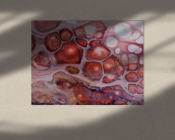 Sfeerimpressie: Pink Bubbles van AJ Art