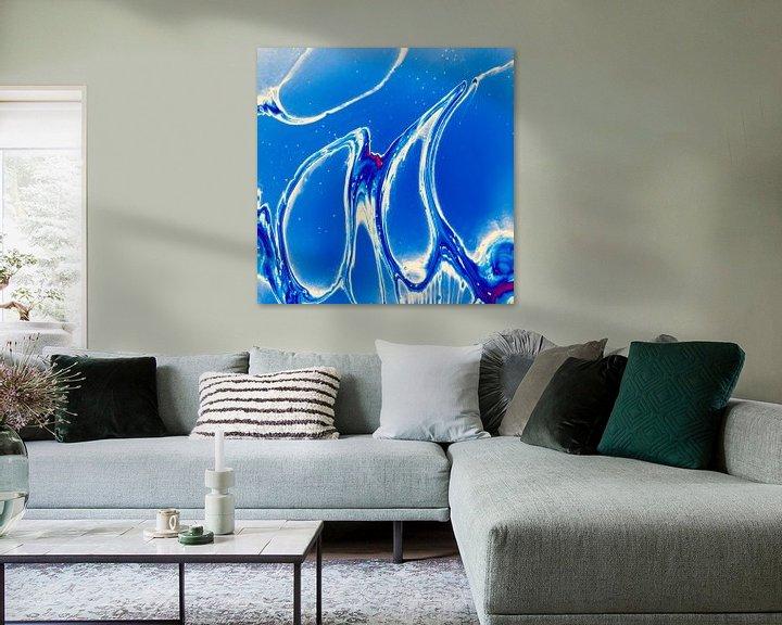 Sfeerimpressie: Blue Cells van AJ Art