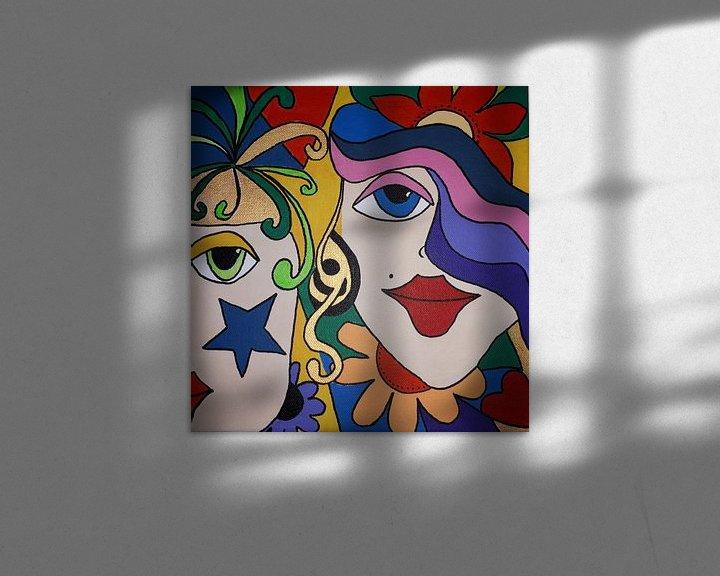 Sfeerimpressie: In Love van Anja  Bulté