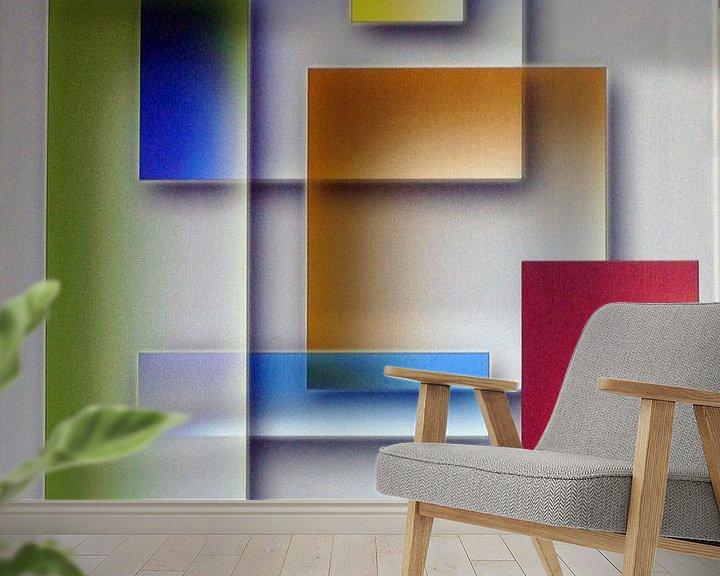 Sfeerimpressie behang: Glas van Jan Wiersma