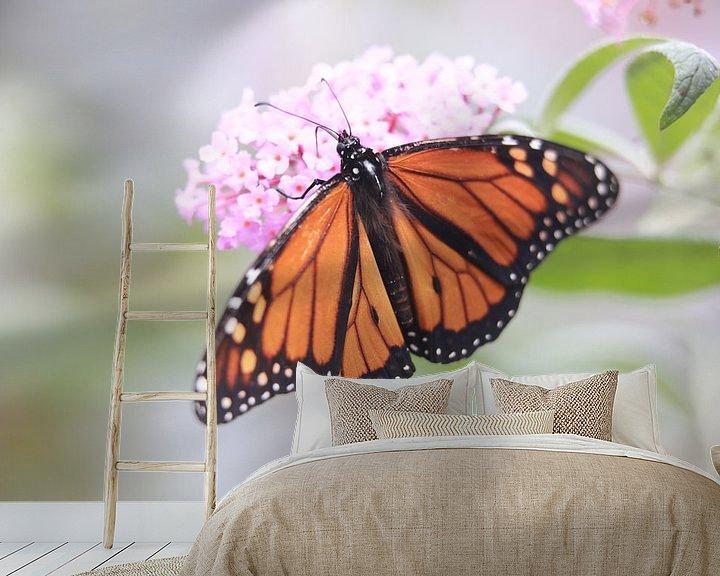 Beispiel fototapete: Monarch butterfly von Mark Zanderink