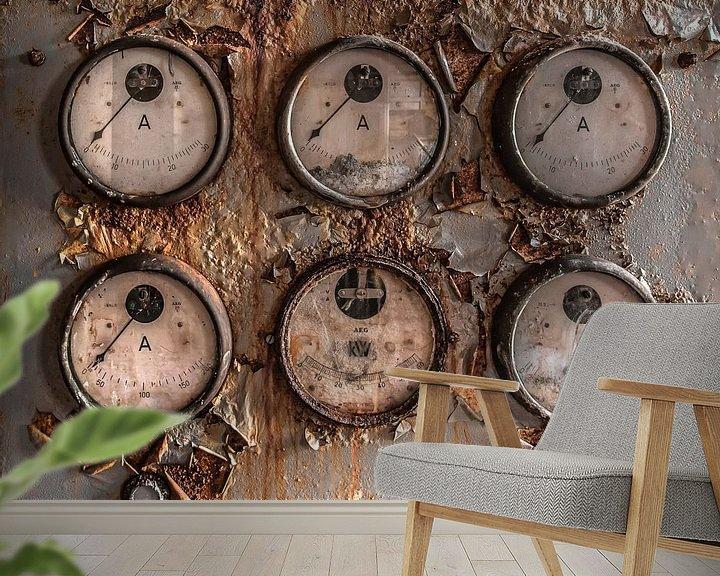 Sfeerimpressie behang: Ampère van Olivier Photography