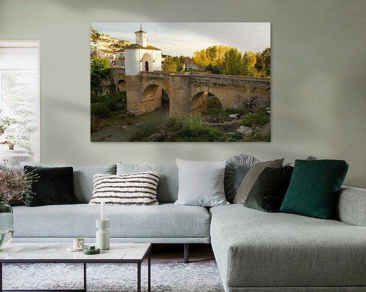 Sfeerimpressie: Poortbrug van Cornelis (Cees) Cornelissen