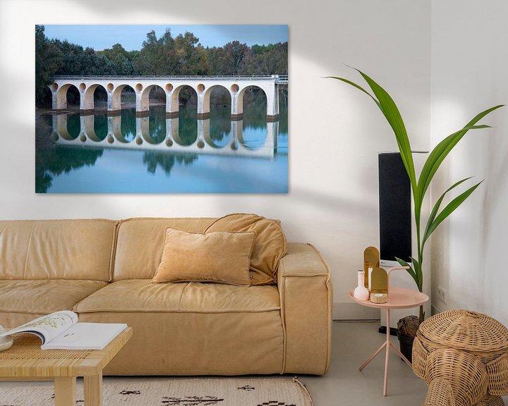 Sfeerimpressie: Oval Bridge van Cornelis (Cees) Cornelissen