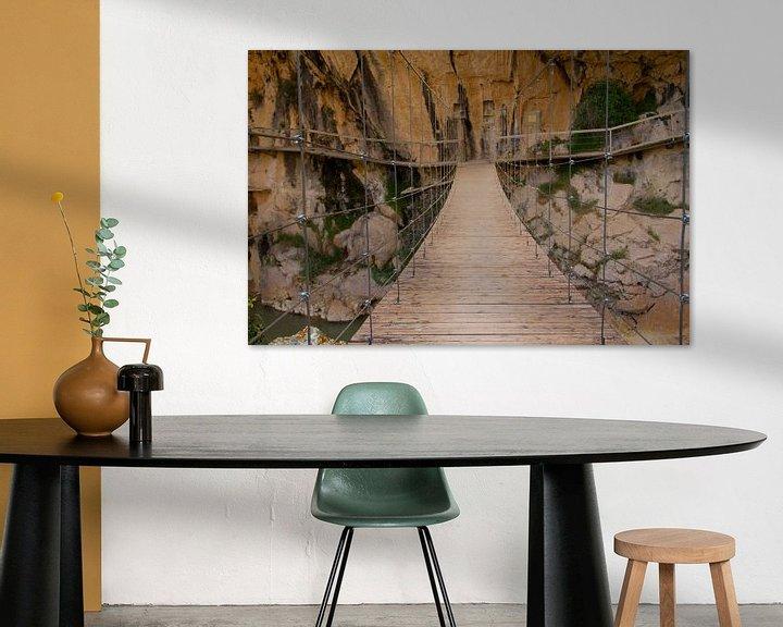 Sfeerimpressie: Suspension Bridge van Cornelis (Cees) Cornelissen