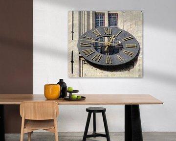 Horloge Halletoren van Marc Van Achte