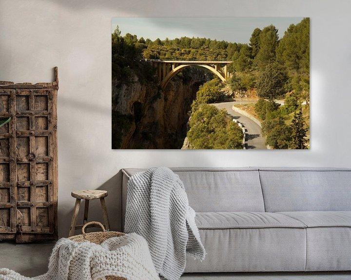 Sfeerimpressie: Forest Bridge van Cornelis (Cees) Cornelissen