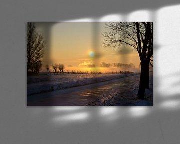 Landschap bij zonsopkomst van Fotografia PB
