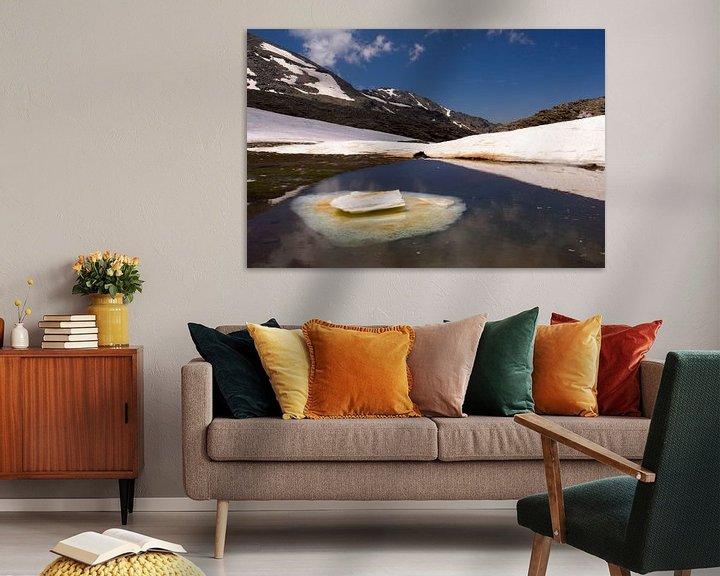 Sfeerimpressie: Ice Lake Sierra Nevada van Cornelis (Cees) Cornelissen