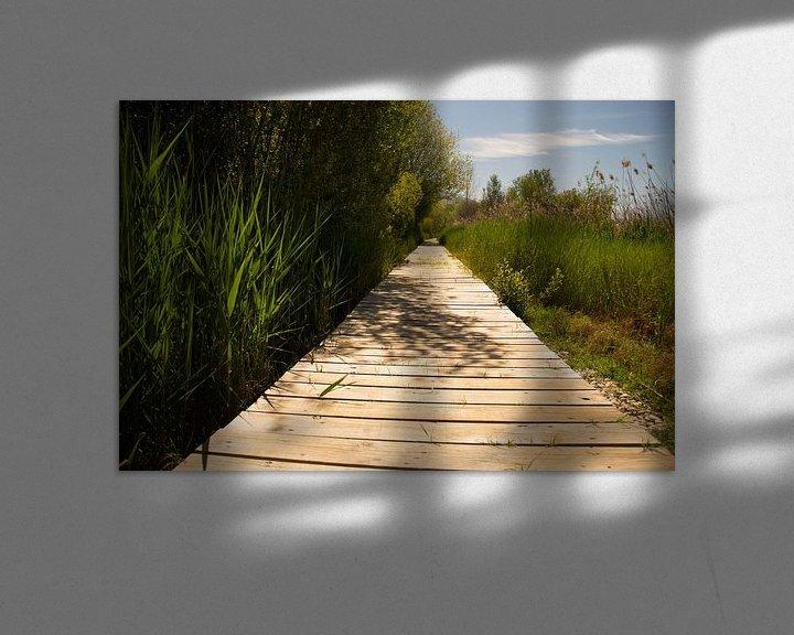 Sfeerimpressie: Lake Road van Cornelis (Cees) Cornelissen
