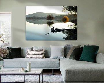 Black & White Reflection van Cornelis (Cees) Cornelissen