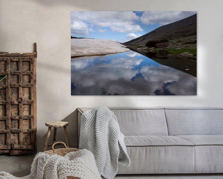 Sfeerimpressie: Cloud Reflection van Cornelis (Cees) Cornelissen