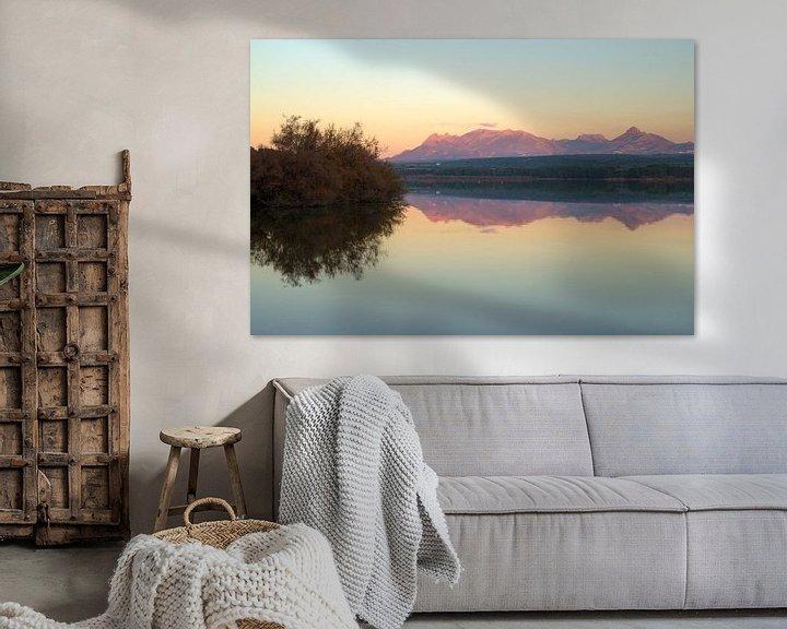 Sfeerimpressie: Mountain Reflection Cubillas van Cornelis (Cees) Cornelissen
