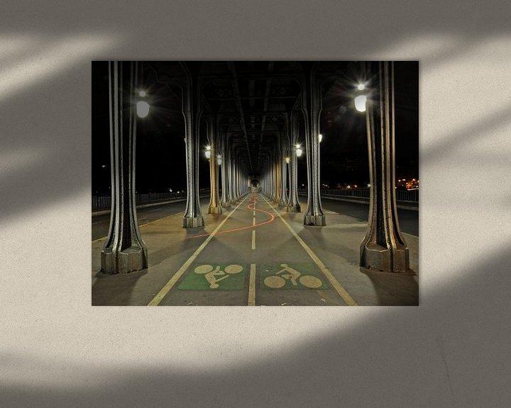 Sfeerimpressie: Dansend licht in Parijs van Emil Golshani