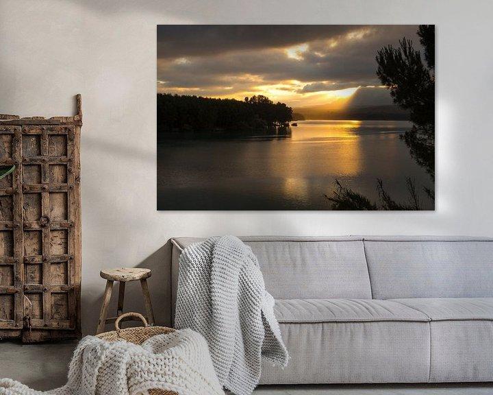 Sfeerimpressie: Sunrise Lake van Cornelis (Cees) Cornelissen