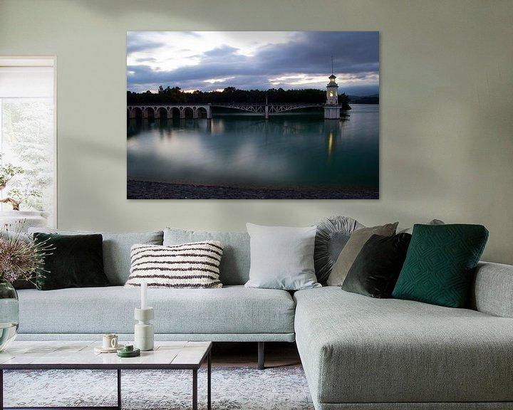 Sfeerimpressie: Mysterious Lake van Cornelis (Cees) Cornelissen