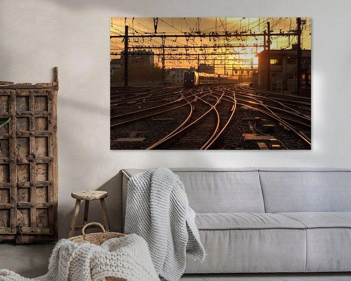 Sfeerimpressie: Gare de Lyon-Perrache van Sander van der Werf