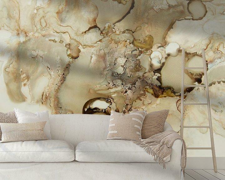 Sfeerimpressie behang: The light comes back van Carla Mesken-Dijkhoff