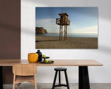 De Strandwachttoren von Cornelis (Cees) Cornelissen