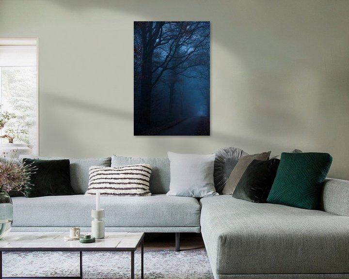 Sfeerimpressie: Donkere weg van Pieter Navis