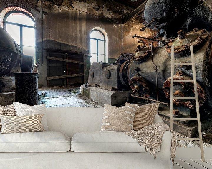 Beispiel fototapete: Oude industriële machines in een verlaten fabriek von Sven van der Kooi (kooifotografie)