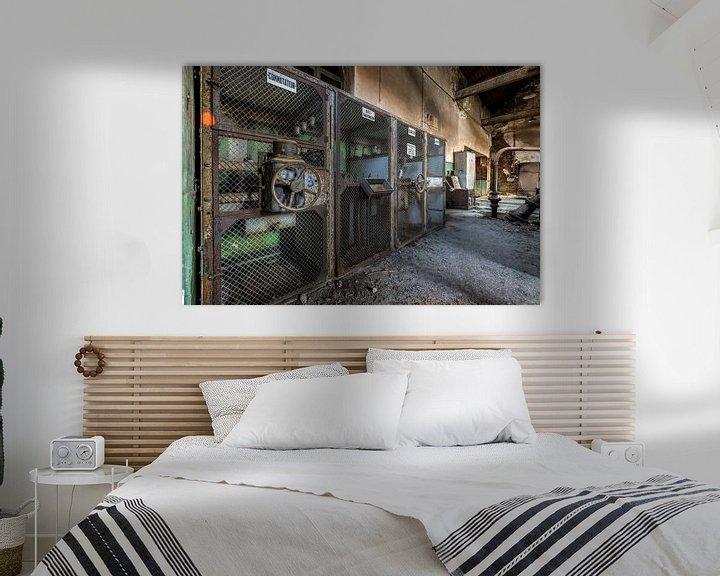 Beispiel: Alte Industriemaschinen in einer verlassenen Fabrik von Sven van der Kooi (kooifotografie)