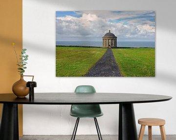 De Mussenden Temple, N. Ierland. von Edward Boer