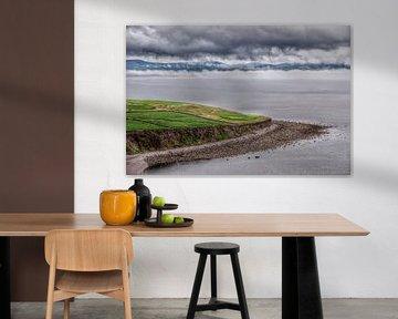 Ierse kust bij Waterville, Ring of Kerry. van Edward Boer