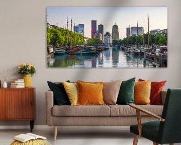 Haringvliet / Oude Haven Rotterdam  van Sylvester Lobé