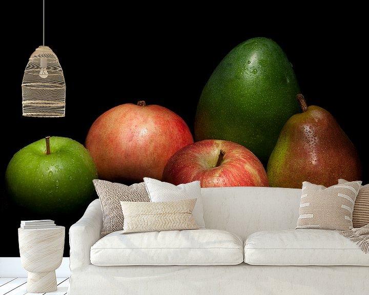 Sfeerimpressie behang: Fruit van Huub Keulers