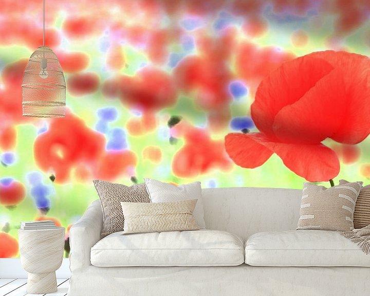 Beispiel fototapete: poppy von Falko Follert