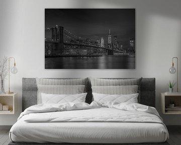 Manhattan by Night von Rene Ladenius Digital Art