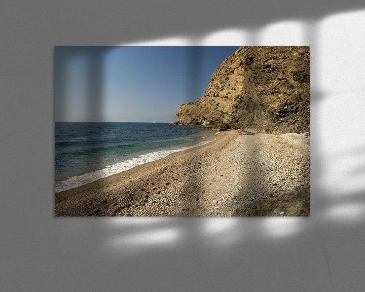 Sfeerimpressie: Een Costa Tropical Strand van Cornelis (Cees) Cornelissen