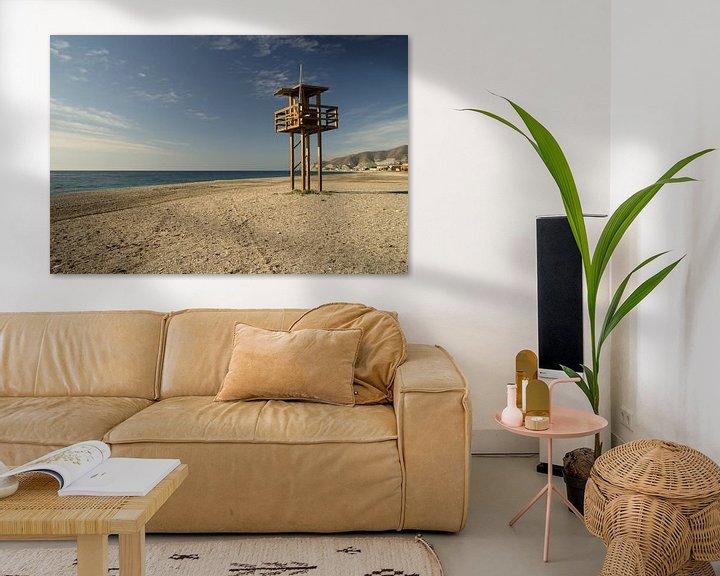 Sfeerimpressie: Het Verlaten Strand van Cornelis (Cees) Cornelissen