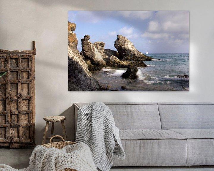 Sfeerimpressie: De Rotskust van Cabo de Gata van Cornelis (Cees) Cornelissen