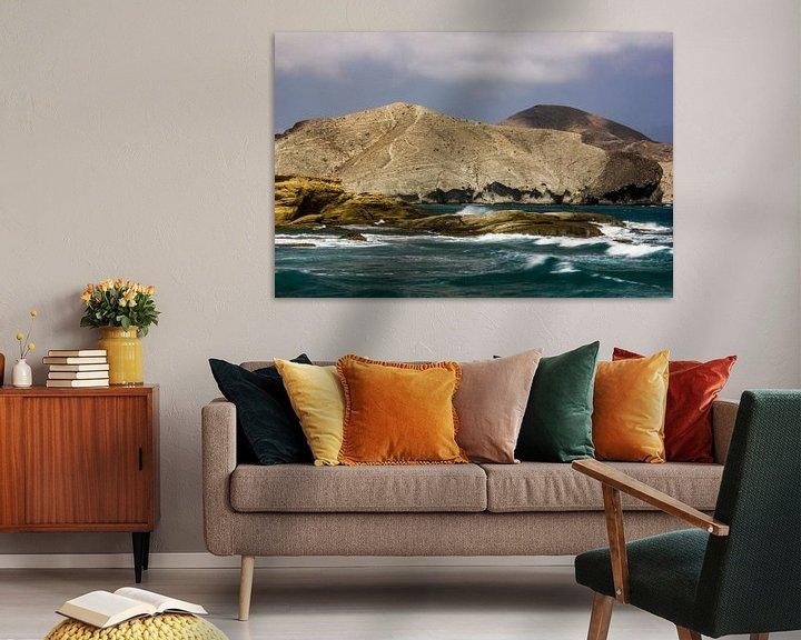 Sfeerimpressie: Ruwe Zee van Cornelis (Cees) Cornelissen