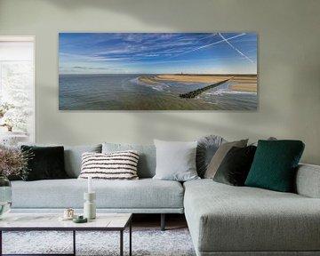 Vuurtoren met pier - Texel  sur Texel360Fotografie Richard Heerschap
