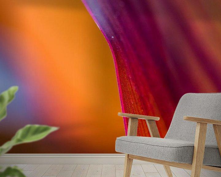 Sfeerimpressie behang: Pink Pleasure van angelique van Riet