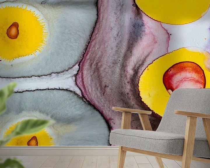 Sfeerimpressie behang: Eggs van angelique van Riet