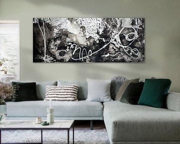 Schwarz und Weiß von angelique van Riet