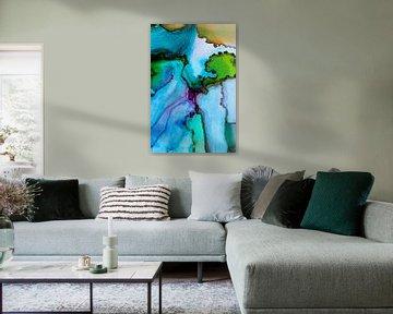 Tinte mehrere Farben von angelique van Riet