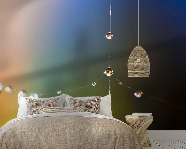 Sfeerimpressie behang: Waterdruppel van angelique van Riet