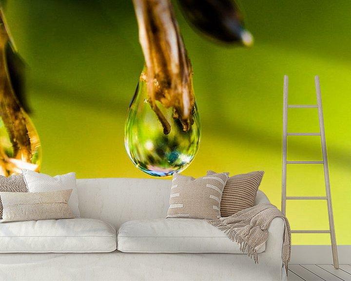 Sfeerimpressie behang: Druppel van angelique van Riet