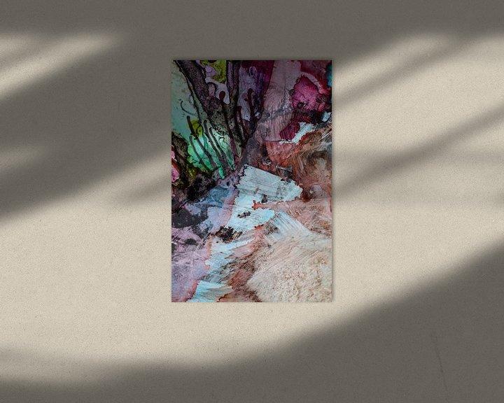 Sfeerimpressie: Achtergrond in inkt van angelique van Riet