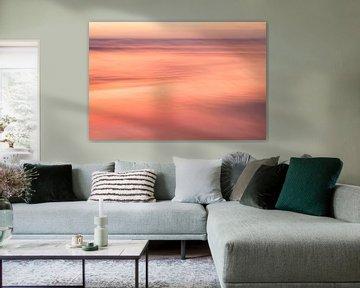 Orange coucher de soleil