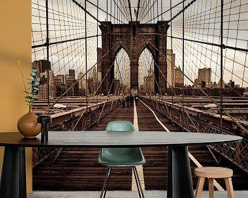 Brooklyn Bridge van Maarten De Wispelaere