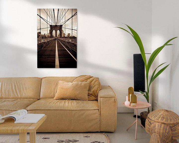 Sfeerimpressie: Brooklyn Bridge van Maarten De Wispelaere