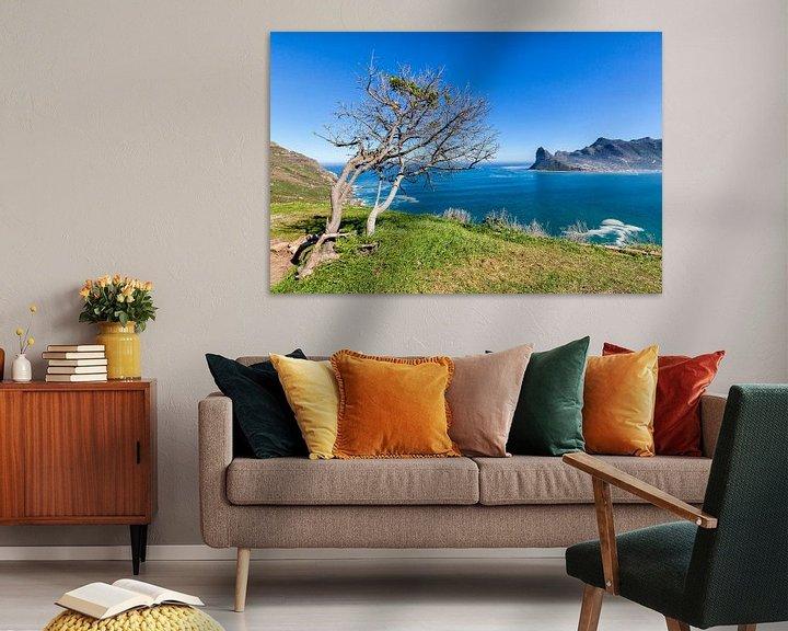 Sfeerimpressie: Houtbaai  Kaapse schiereiland Zuid-Afrika van Cor de Bruijn