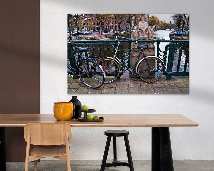 Sfeerimpressie: Niek Engelschmanbrug in Amsterdam van Silva Wischeropp
