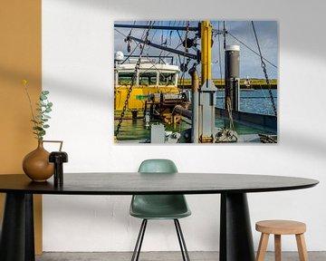 Vissersboot in de haven van Bruinisse sur Tieme Snijders